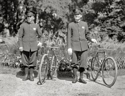 Cycle Cops: 1918
