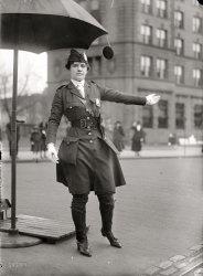 Traffic Cop: 1918