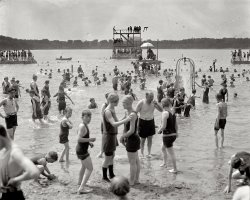 A Day at the Beach: 1924