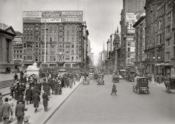 On the Avenue: 1913