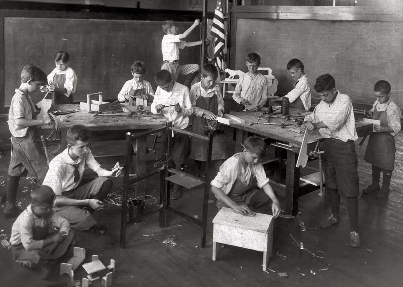 Open-Air School: 1917