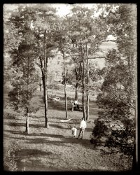 In the Garden: 1910