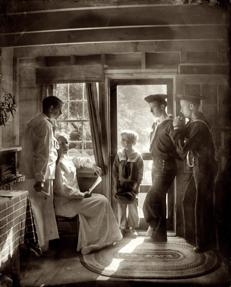 The White Family: 1913