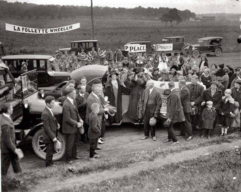Peace and Progress: 1924