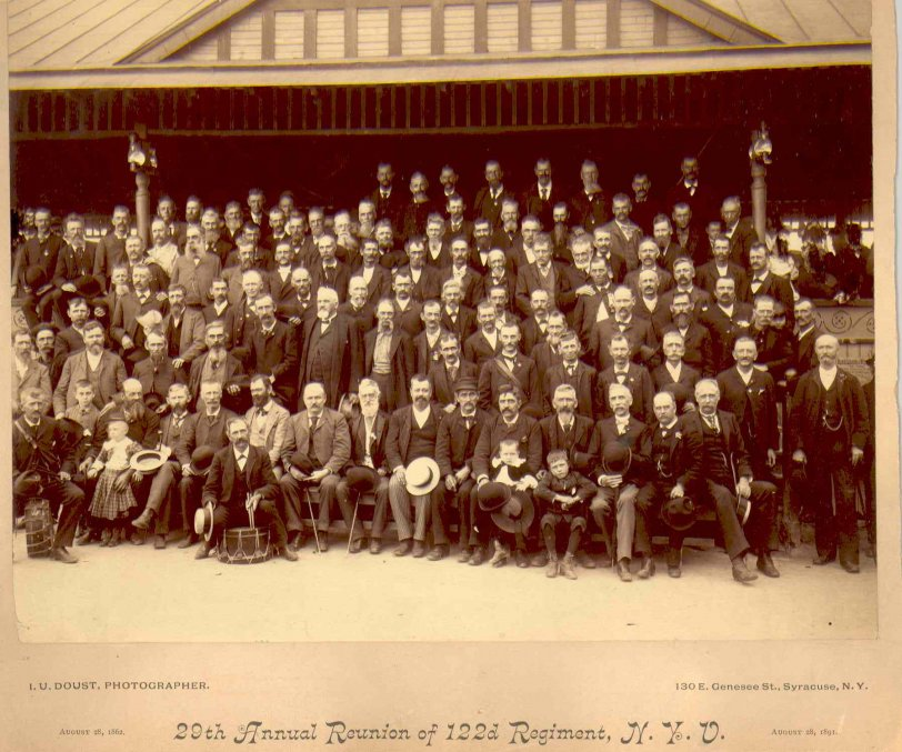 122nd NY Volunteer Regiment - 29th Reunion - 1891