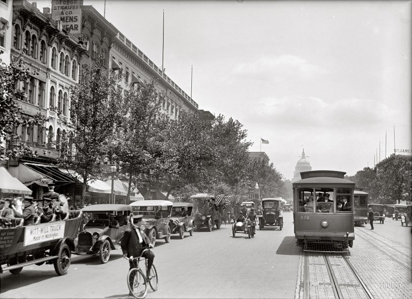 Truck Parade: 1919