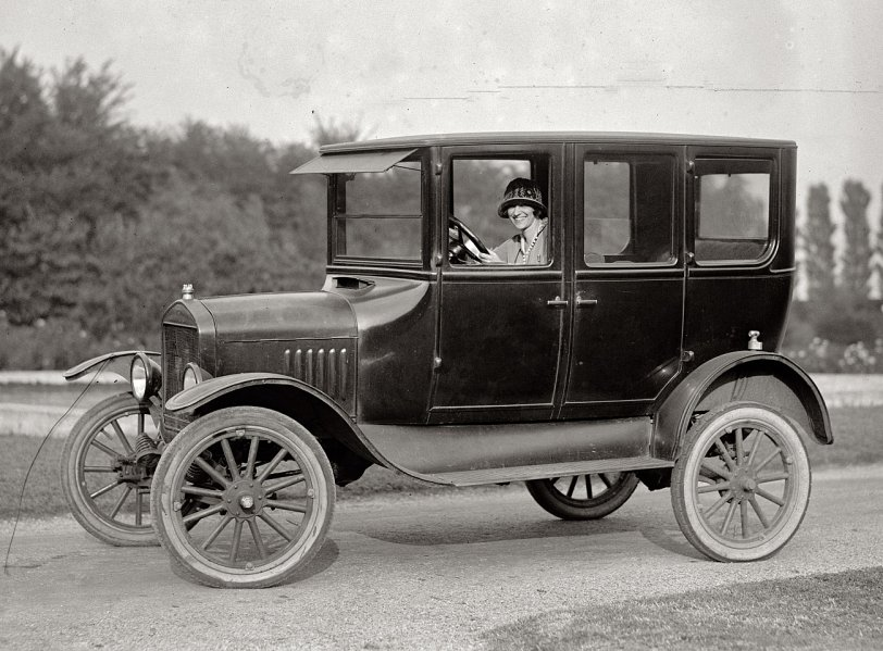 Miss Ramey's Ride: 1924