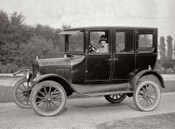 Miss Ramey's Ride: 1924