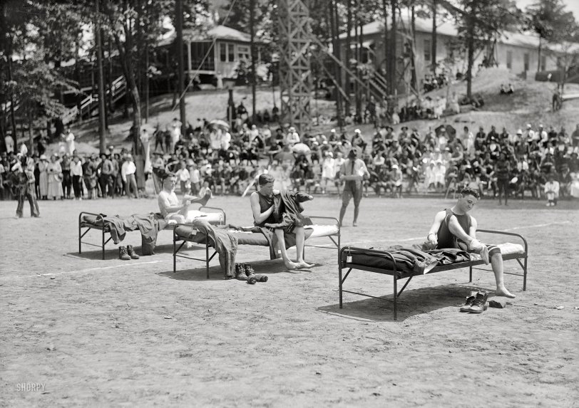 Bed Race: 1919