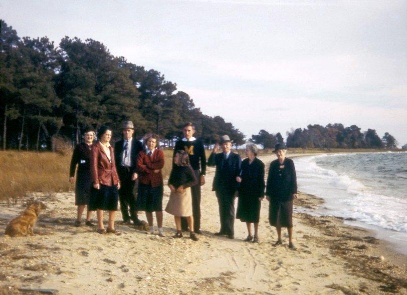 Thanksgiving on the Beach: 1941
