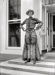 The Tall Cowboy: 1919