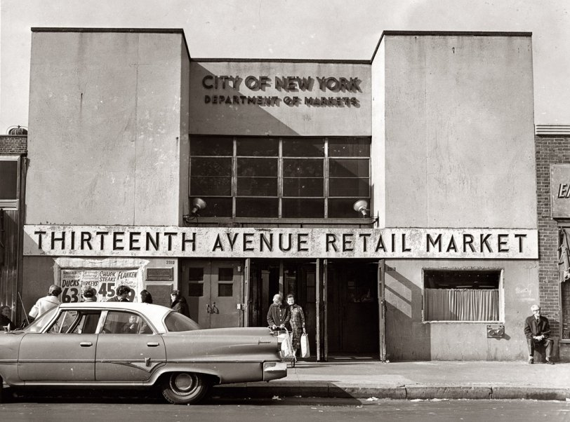 Thirteenth Ave. Retail Market: 1965