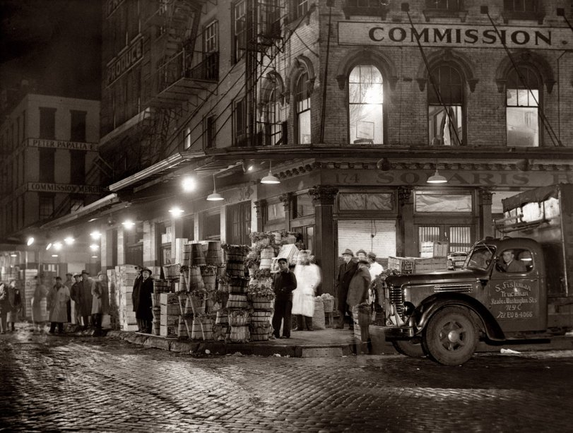 Washington Street Market: 1952