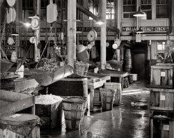Fulton Fish Market: 1954
