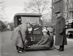 Scooped to Safety: 1924