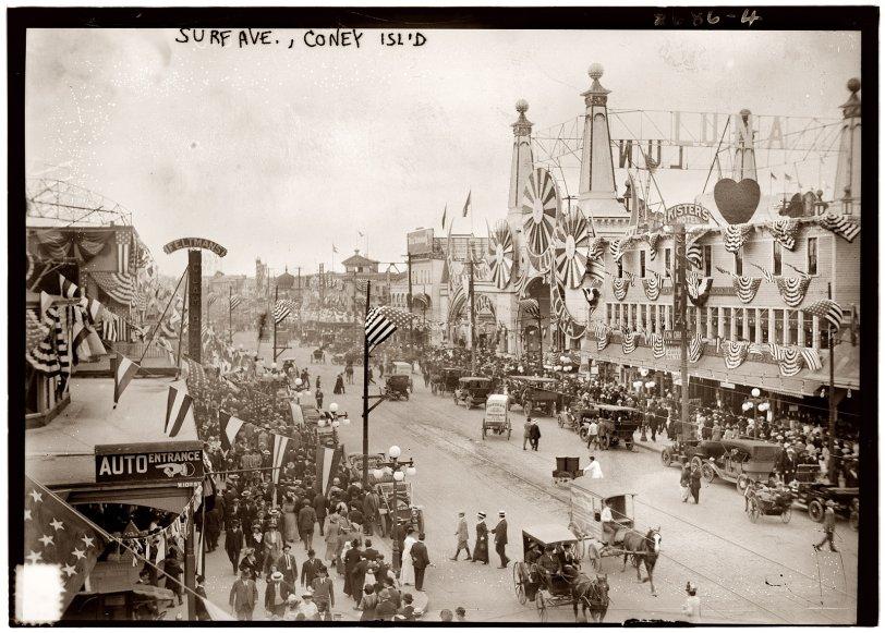 Surf Avenue: 1913