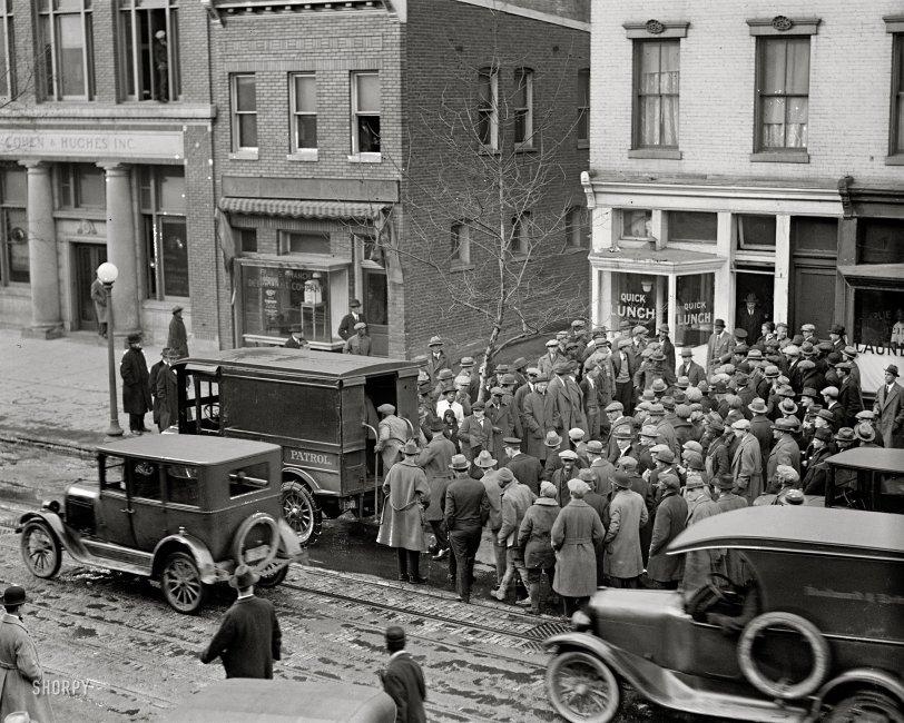 Police Raid: 1925