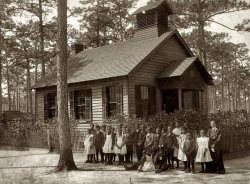 The Little Sepia Schoolhouse: 1905