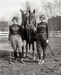 Two Fine Fillies: 1925