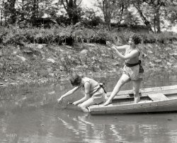 Edna and Olga: 1925