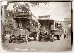 Omnibus Stop: 1913