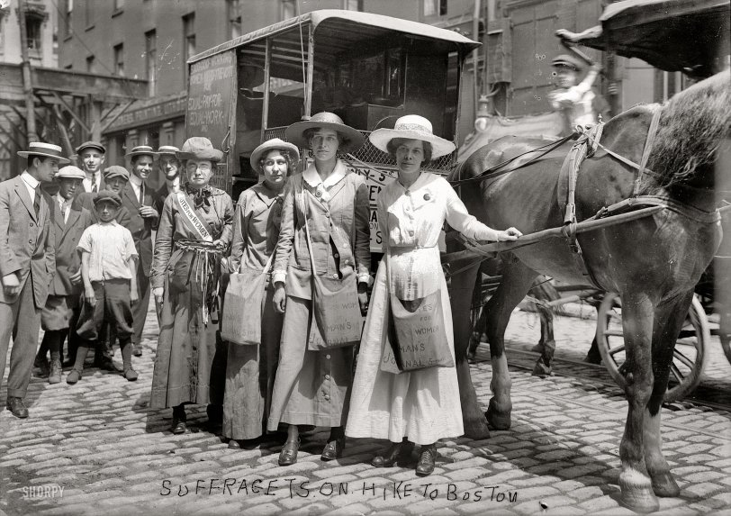 Suffrage Caravan: 1913
