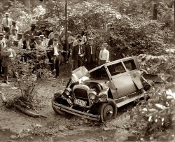 Bridge Wreck: 1925