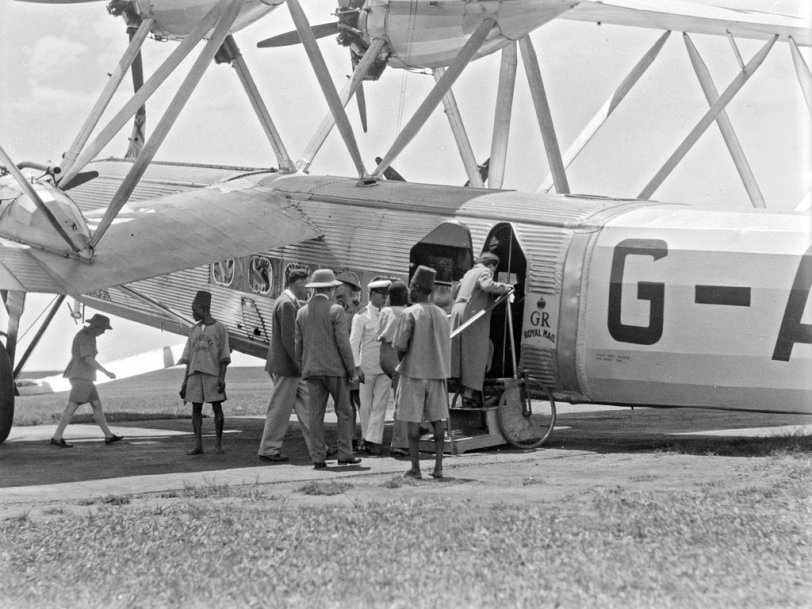 Air Travel in Africa: 1936
