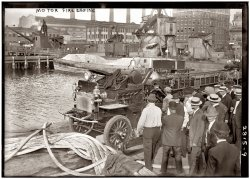 Testing the Hoses: 1913