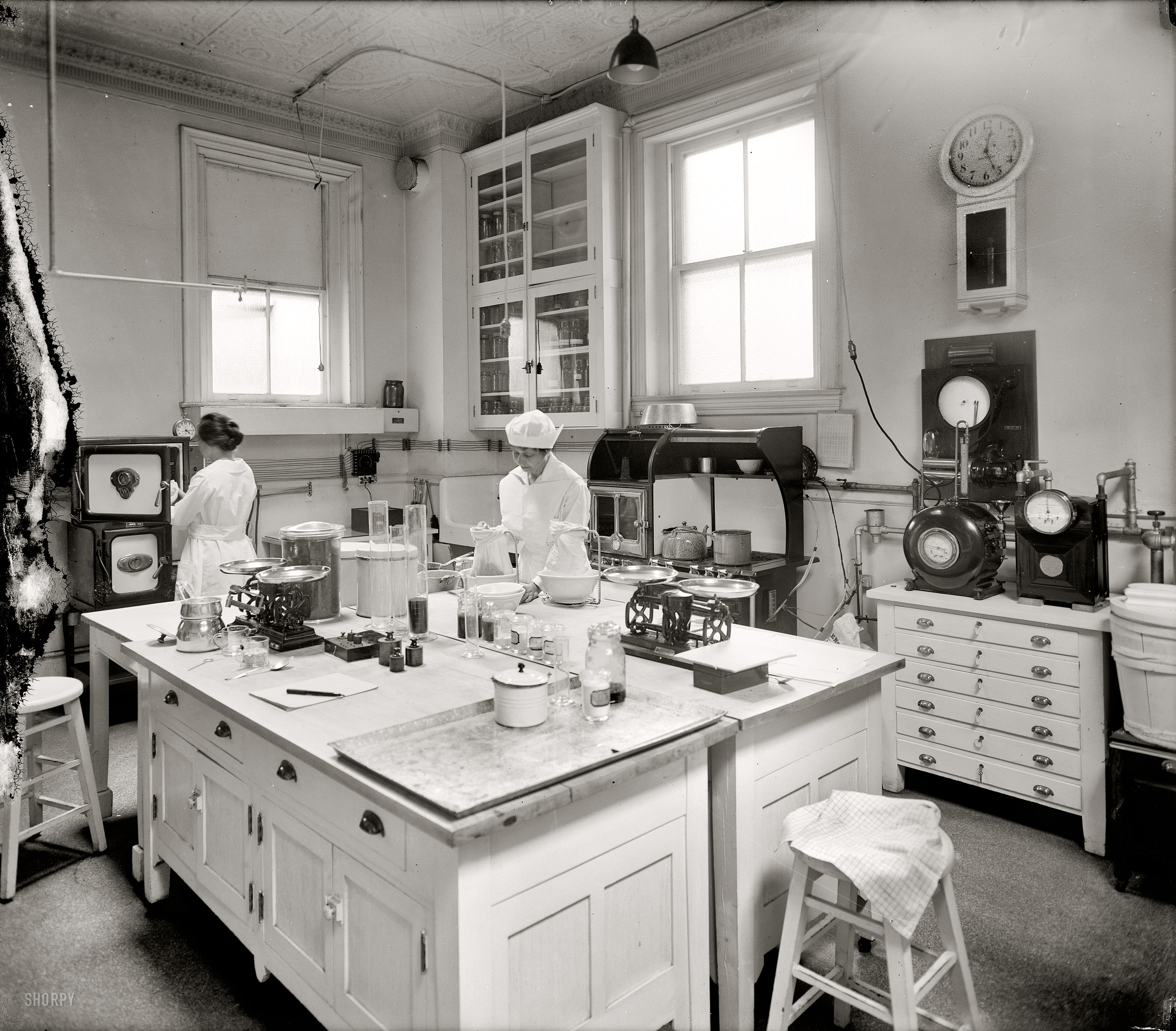 Shorpy Historic Picture Archive Home Ec 1920 High Resolution Photo
