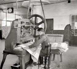 Punching Bag: 1918
