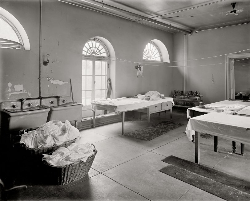 White House Laundry: 1909