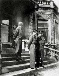 Ike, George VI & Bradley