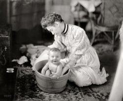 Bathtime for Baby: 1905