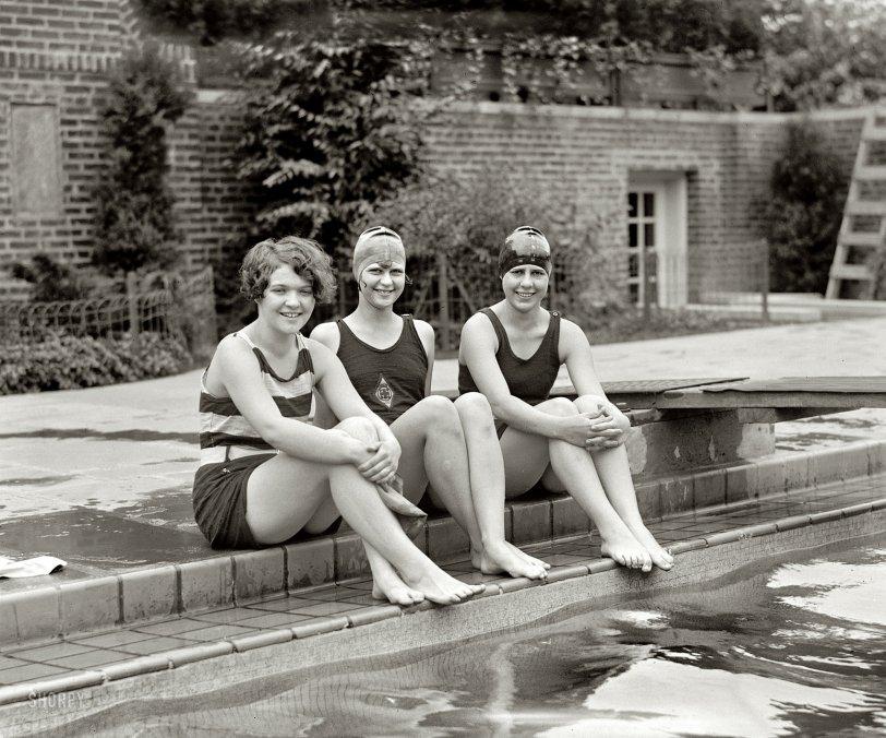 Peggy, Clytie, Ethel: 1926