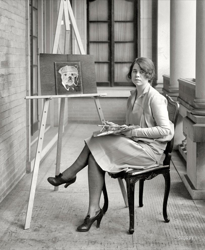 The Smoking Dog: 1927
