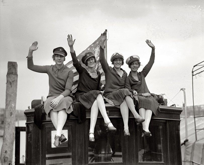 Sea Legs: 1927