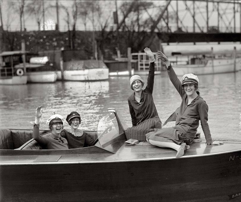 Chicks Ahoy: 1927