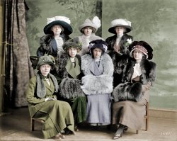 Alpha Girls (Colorized): 1912