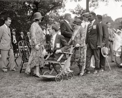 A Garden Party: 1929