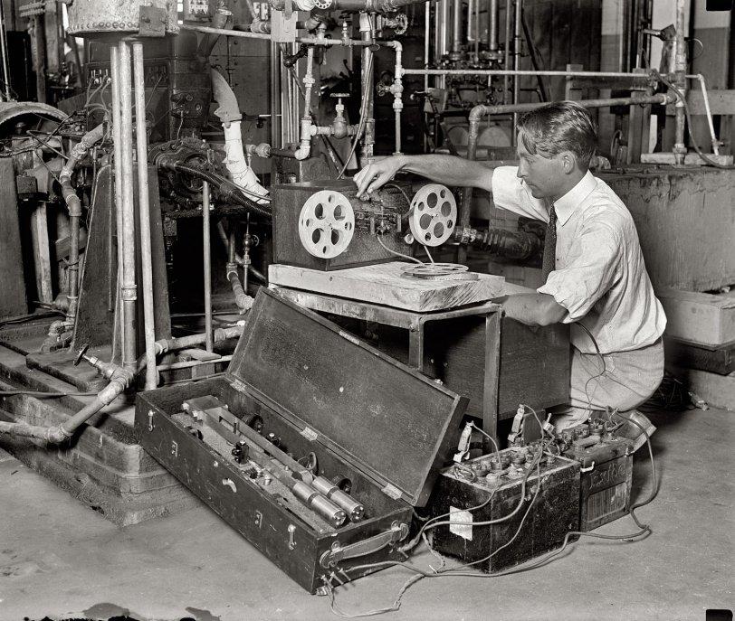 Apparatus: 1929