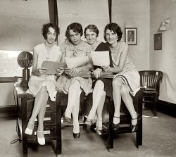 Aeronautic Girls: 1929