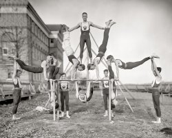 Woodberry Gymnasts: 1910
