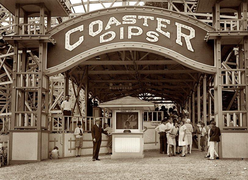 Coaster Dips: 1928