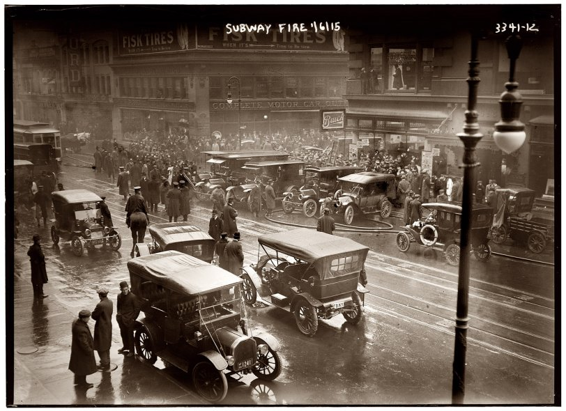 Smoke and Buicks: 1915