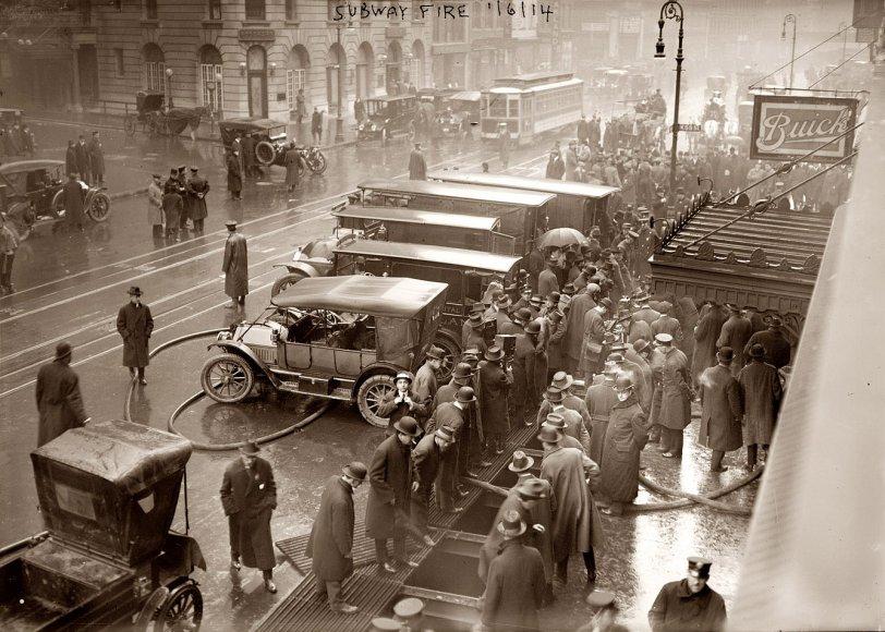 Subway Fire: 1915