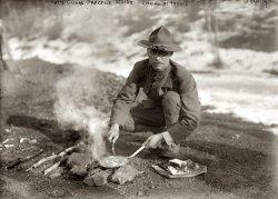 Cooking Alfresco: 1915
