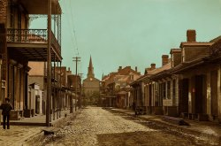 Orleans Street (Colorized): 1890