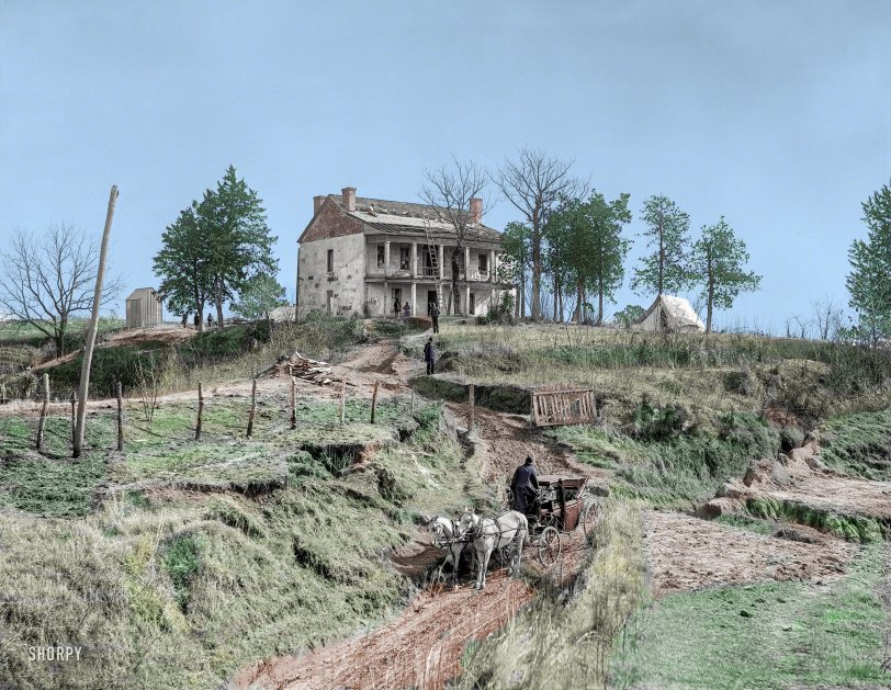Reconstruction: 1890s  Colorized from Shorpy