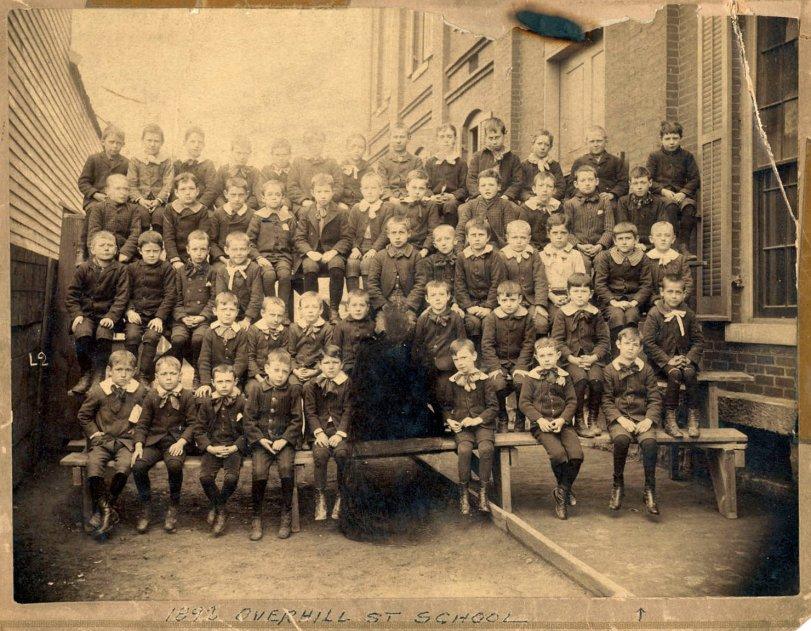 Overhill St. School: 1892